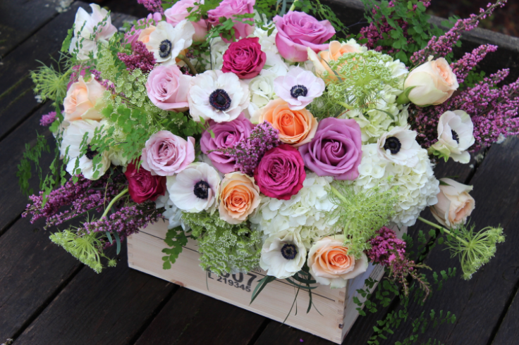 sophisticated floral wedding flowers portland oregon