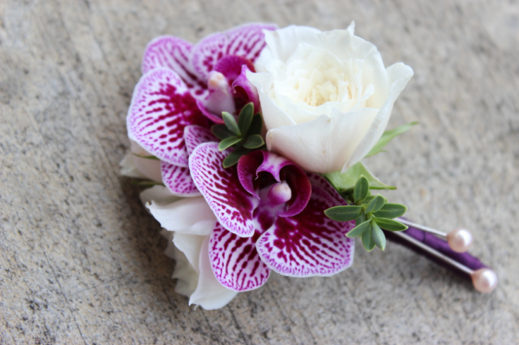 boutonniere purple wedding flowers sophisticated floral designs portland oregon