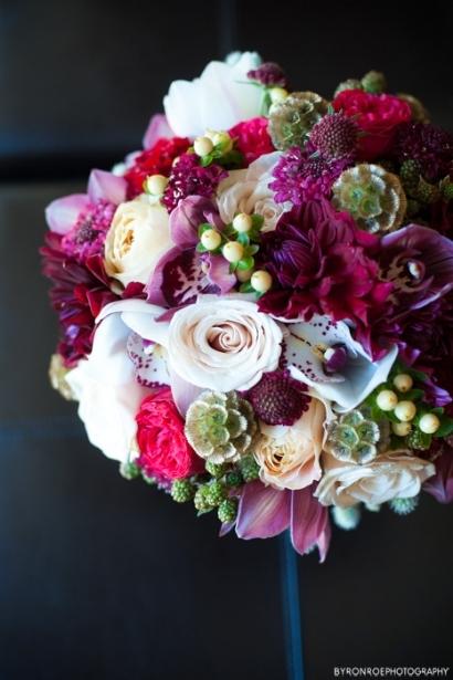 red gold wedding flowers sophisticated floral designs portland oregon wedding florist