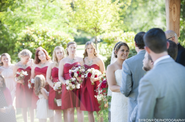 bridal party flowers wedding bouquets sophisticated floral wedding florist portland oregon