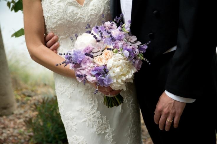 peony lavender bridal bouquet sophisticated floral designs portland oregon