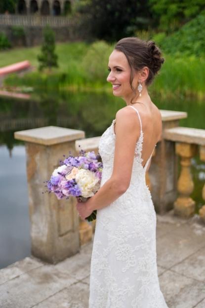 lavender brial bouquet peony sophisticated floral designs portland oregon wedding florist