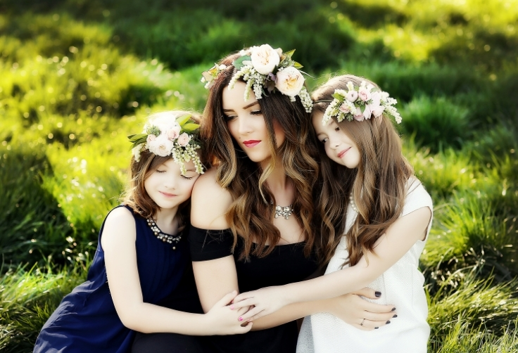 flower girl floral crowns sophisticated floral designs portland oregon