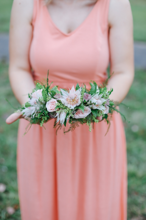 spotted stills photography sophisticated floral designs portland oregon wedding florist floral crown
