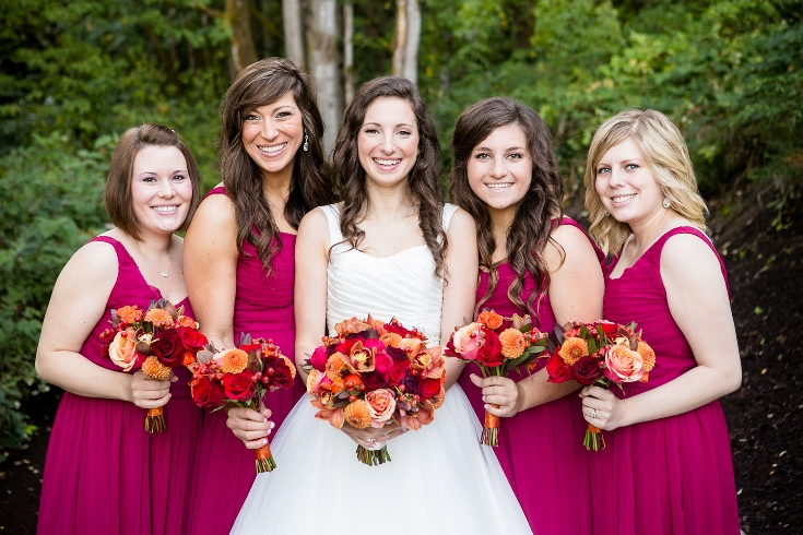 bridal party flowers bouquets abernathy center wedding sophisticated floral