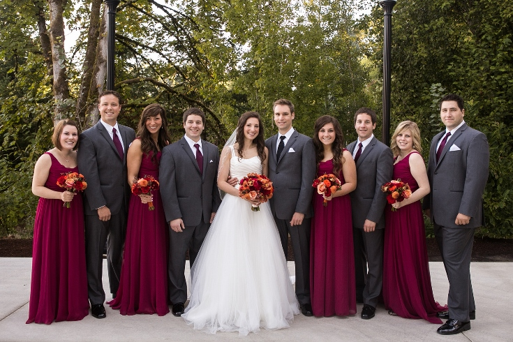burgundy wedding party party dresses dressesss. Black Bedroom Furniture Sets. Home Design Ideas