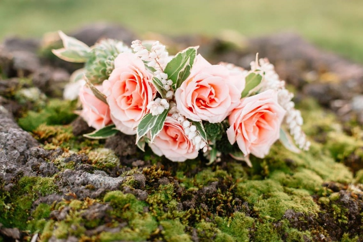 sophisticated floral designs portland florist floral crown