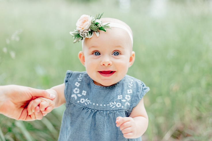 floral crown baby and mom photo session sophisticated floral