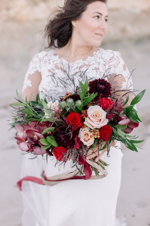 bridal bouquet sophisticated floral designs portland oregon wedding florist