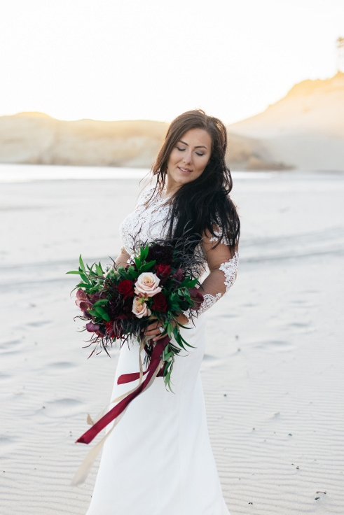 bride and bouquet red marsala burgundy and blush bouquet sophisticated floral