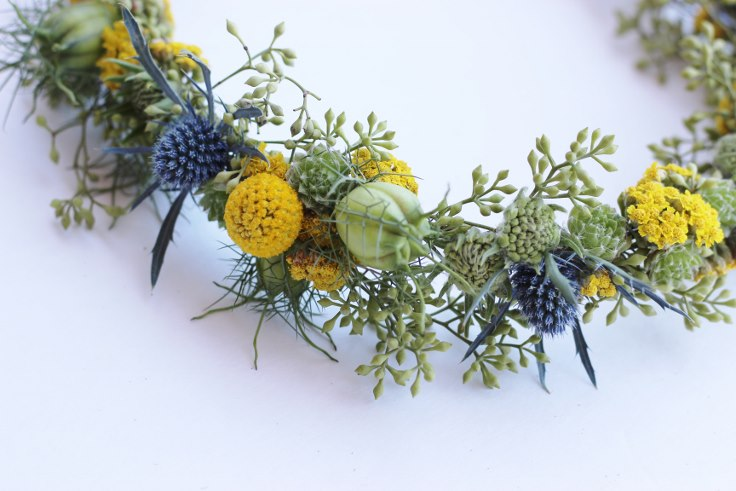 sophisticated floral designs portland oregon florist flower crown halo wreath
