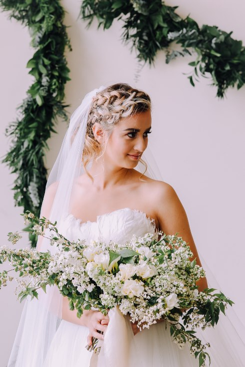 bridal flowers wedding decor sophisticated floral portland oregon
