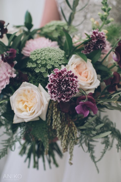 sophisticated floral designs portland oregon wedding florist garden bouquet