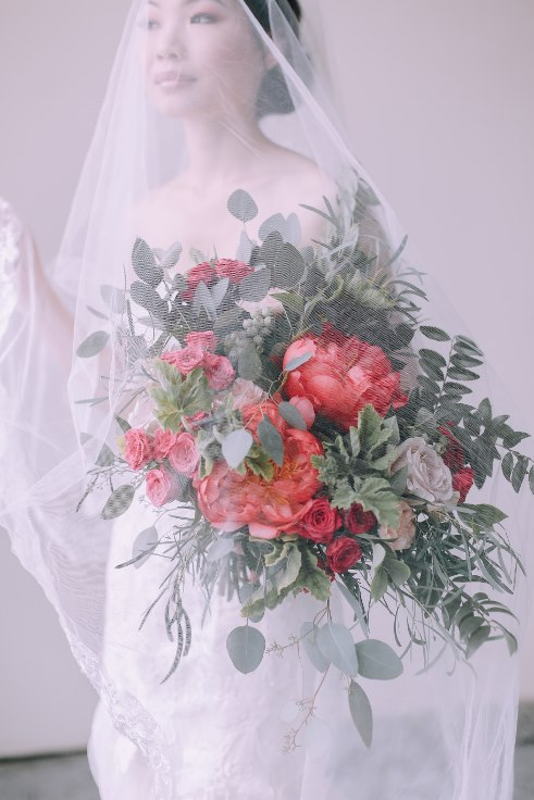 sophisticated floral designs portland wedding florist