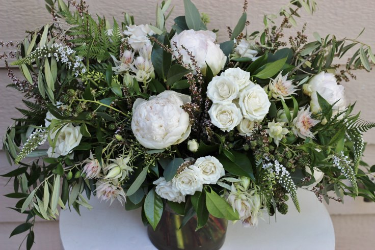 sophisticated floral designs portland oregon florist garden sstyle bouquet