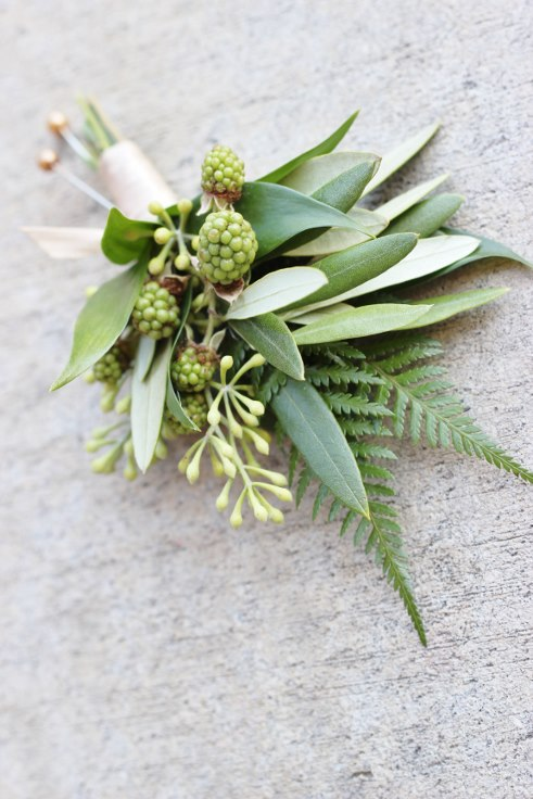 sophisticated floral designs portland oregon florist greenery green foliage boutonniere
