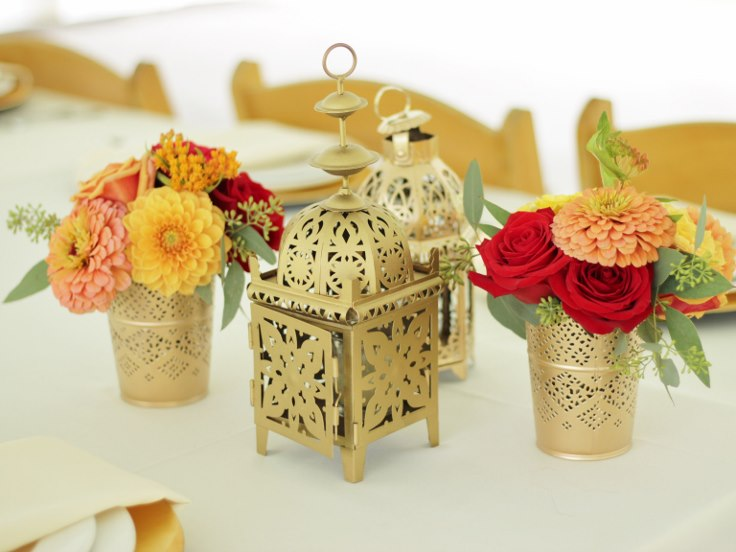 sophistiated floral designs portland oregon wedding florist indian moroccan lantern