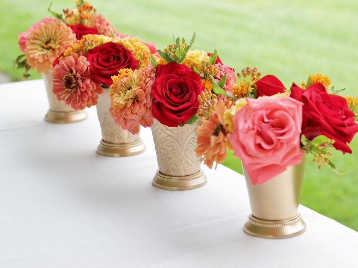 sophistiated floral designs portland oregon wedding florist indian wedding flowers gold vase