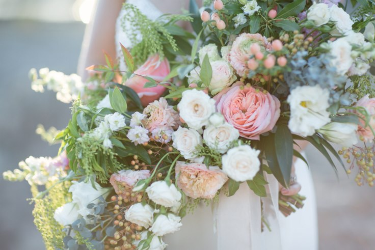 sophisticated floral designs portland oregon wedding florist blush oversized boho bridal bouquet ranunculus garden roses (2).jpg
