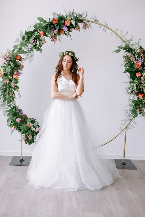 sophisticated floral designs portland oregon wedding florist floral hoop round arbor moon gate arch (24).jpg