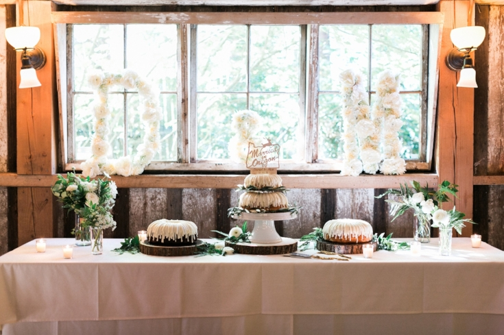sophisticated floral designs Mcmenamins Roadhouse bunt cakes