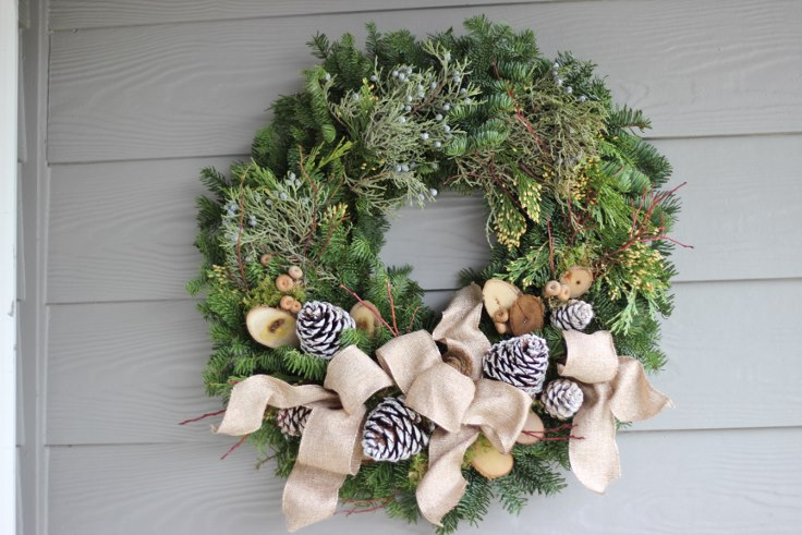 sophisticated floral designs portland oregon wedding florist modern christmas wreath (8) (736x491).jpg