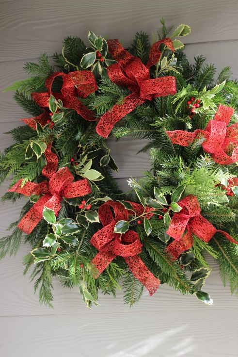sophisticated floral designs portland oregon wedding florist modern christmas wreath (12) (491x736).jpg