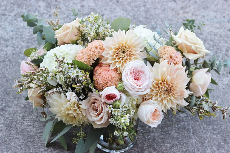 sophisticated floral designs portland oregon wedding florist blush pink flowers  dahlia garden rose (2) (735x490).jpg