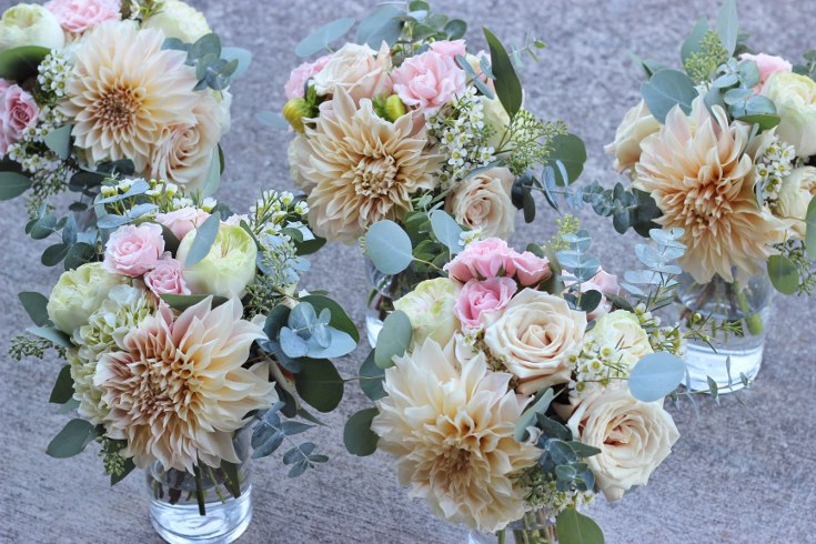 sophisticated floral designs portland oregon wedding florist blush pink flowers  dahlia garden rose (6) (735x490).jpg