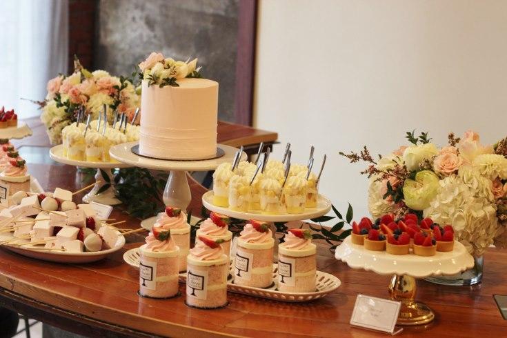 sophisticated floral designs portland oregon wedding event florist baby shower bridal shower flowers cake dessert bar table flowers