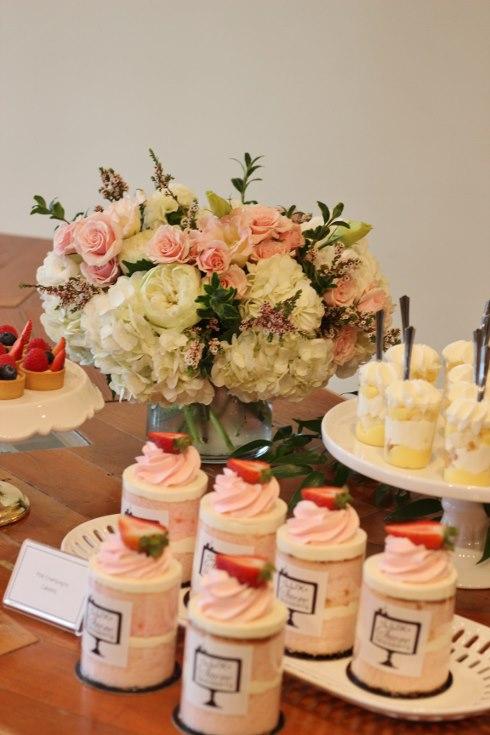 sophisticated floral designs portland oregon wedding event florist baby shower bridal shower flowers cake dessert bar flowers
