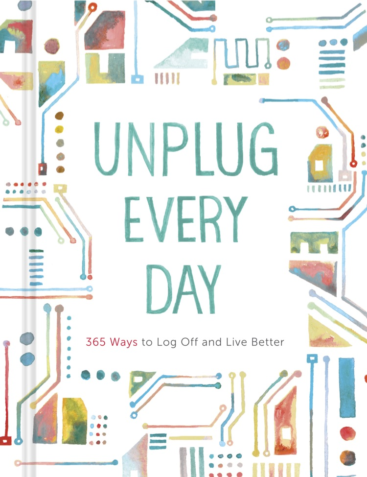 Conceived of and wrote the text for this journal presenting 365 for unplugging from technology.