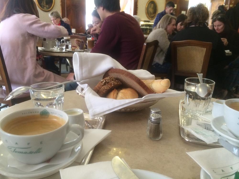 americano & bread