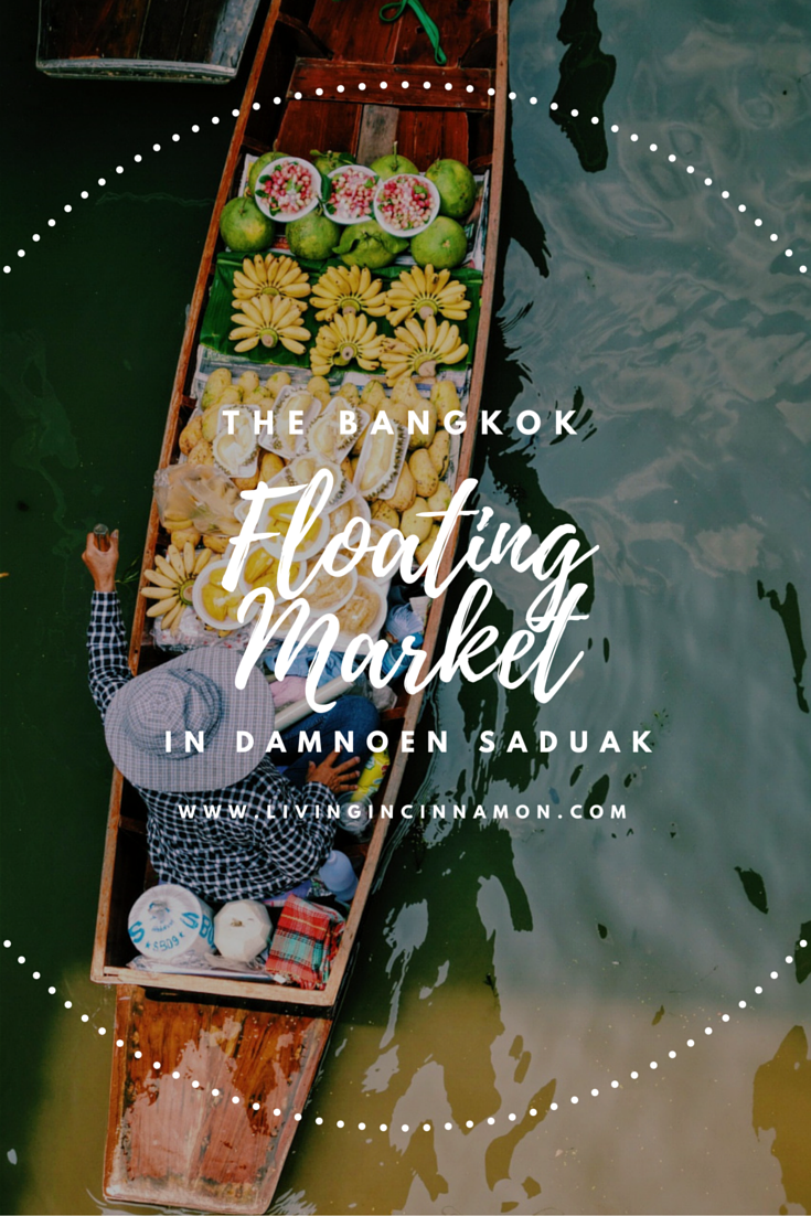 The Damnoen Saduak Floating Market, Bangkok Thailand