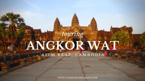 touring Angkor Wat in siem reap, cambodia