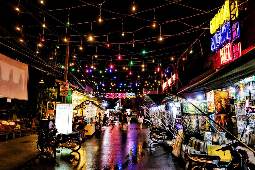 The Angkor Night Market