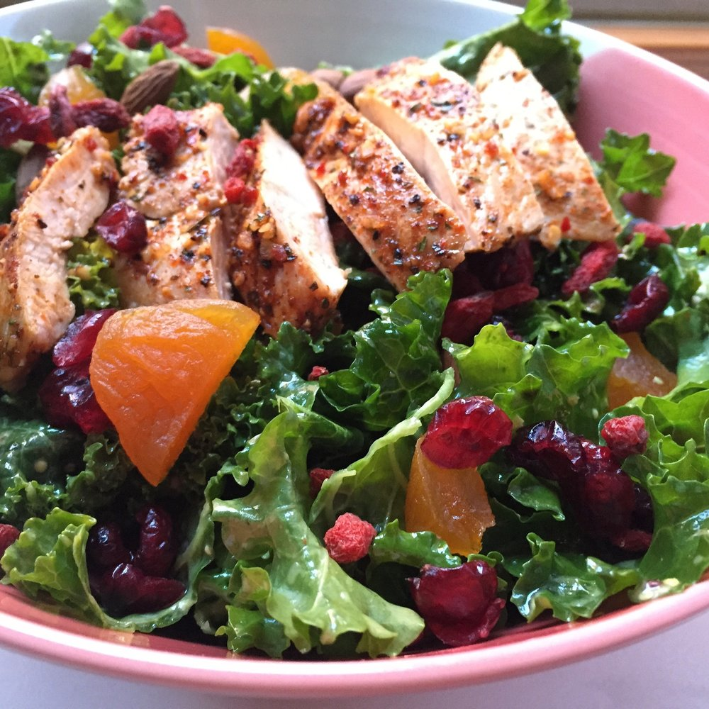 THE KALE SALAD