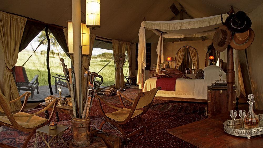 Singita Sabora Tented Camps