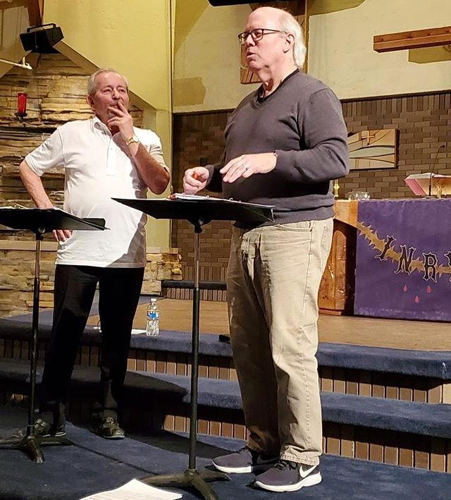 "John Helgen joined us this week to provide some final touches before the world premiere of his piece, ""Crossing the Bar."" Get your tickets today and join us for the debut Friday, April 26. Tickets for both concerts are available at mvmc.com/tickets"