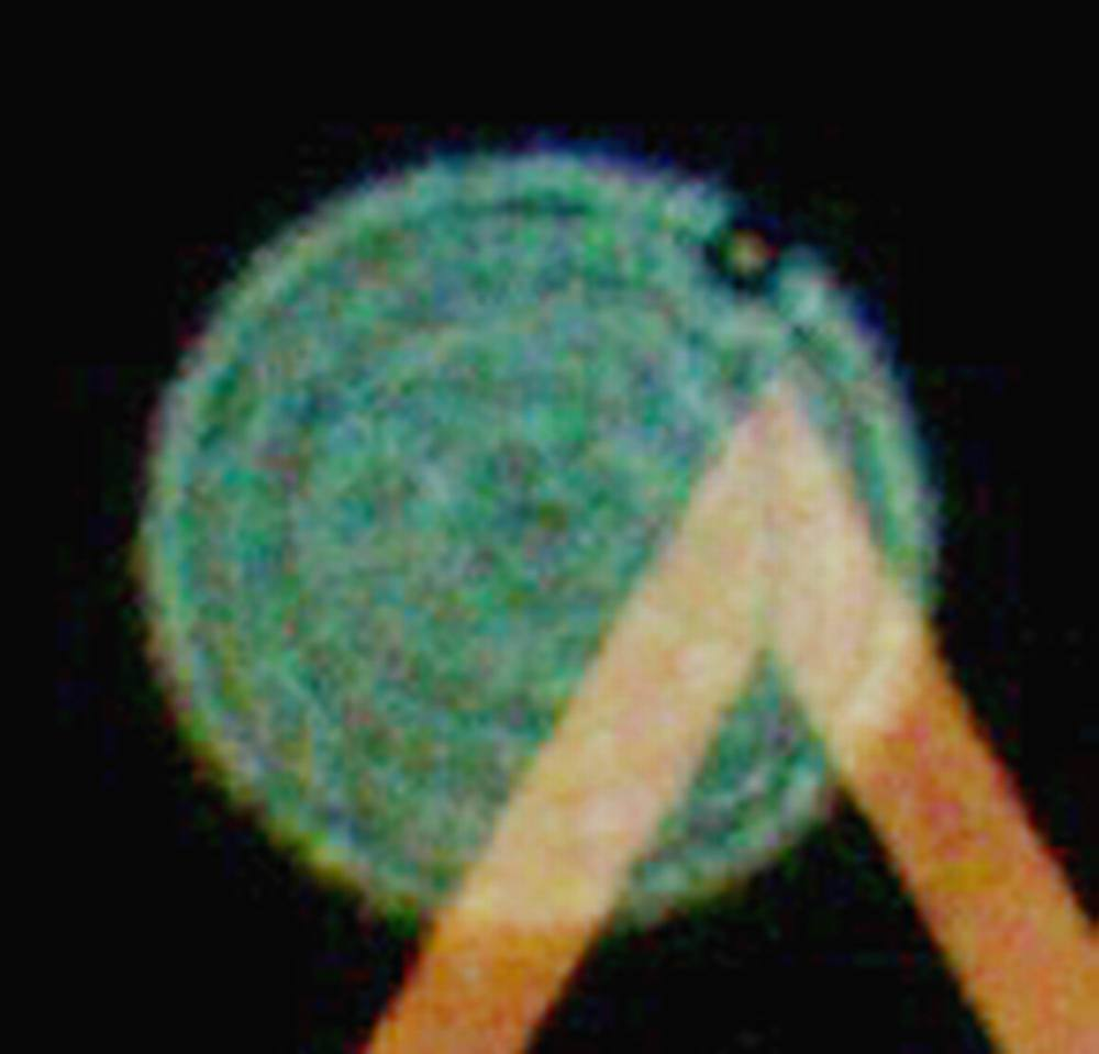 (8) Orb in sacred triangle