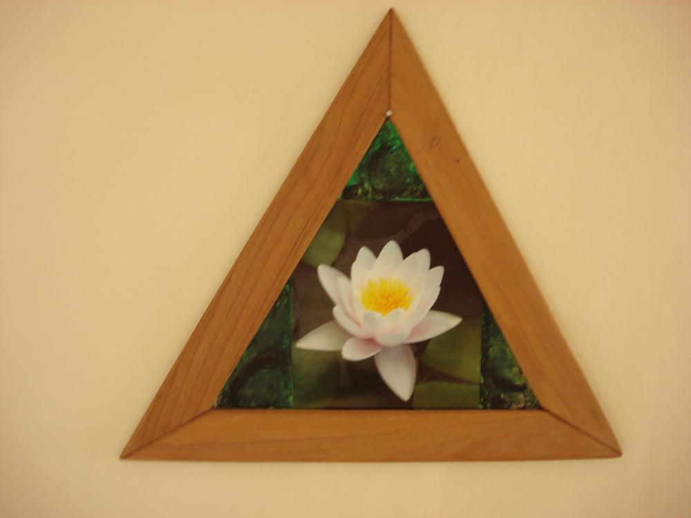 Das Gebets-Dreieck der Casa de Dom Inacio.