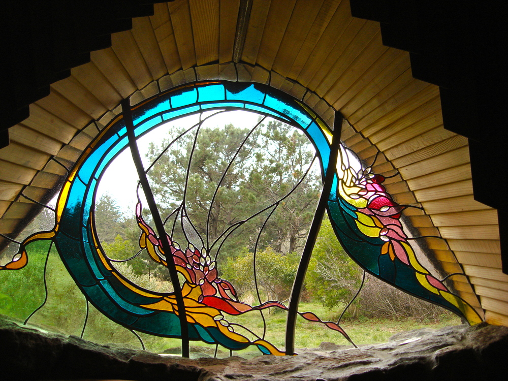 "Photo taken from inside the ""Sea Ranch Chapel,"" near the location of some of our AWE programs"