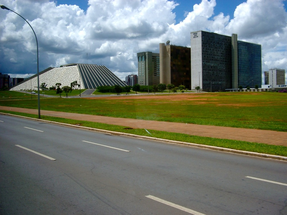 Government buildings in Brasilia