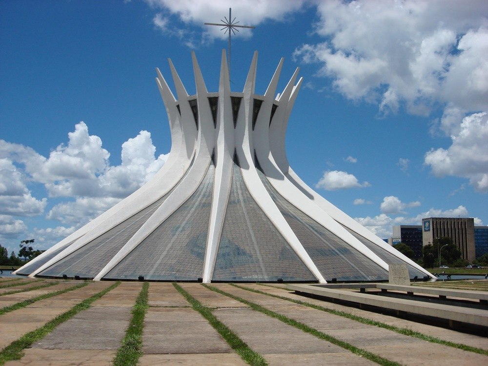 The Cathedral in Brasilia