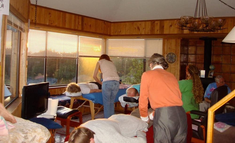 Reiki Training at Sea Ranch