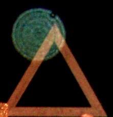 The  Casa de Dom Inacio  (Abadiania, Brazil) Triangle, symbolizing LOVE - FAITH - CHARITY as the basis to live by.