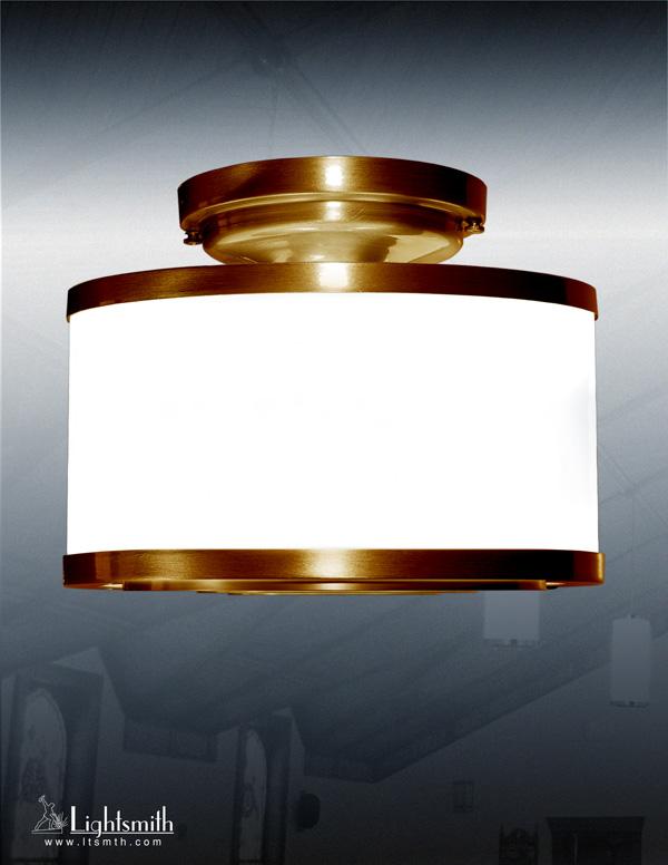 1403-CC - Satin Bronze - White Opal Acrylic