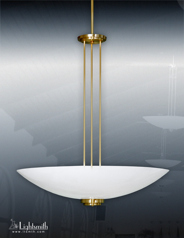 1536-PC - Satin Gold - White Opal Acrylic