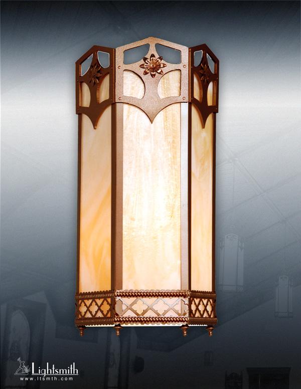 410-WT- Medium Bronze- Streaked Opal Glass