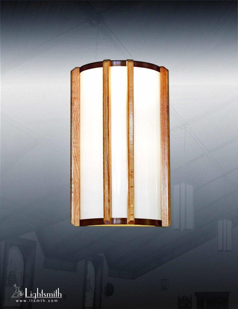 112-WC - Oil Rubbed Bronze - Light Oak